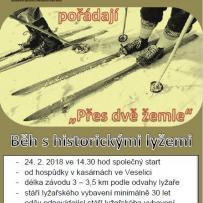 Přes dvě žemle - běh historickými lyžemi - SDH Veselice | Hospůdka Na Kasárnách
