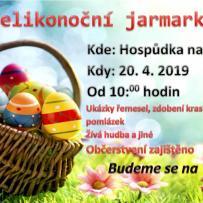 Velikonoční jarmark 20.04.2019 v Hospůdce Na Kasárnách